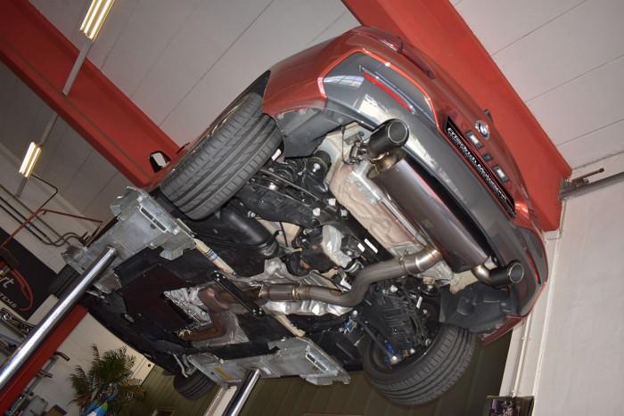 90mm Duplex-Anlage BMW 1er F20/F21