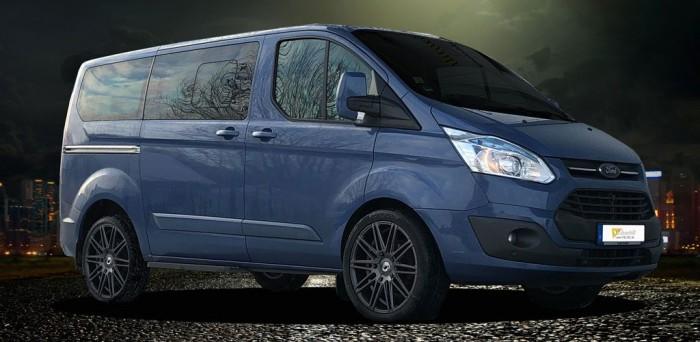 Schmidt Felgen Tyron für Ford Transit 8Jx20H2 TitanMatt