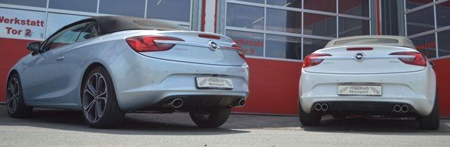 Friedrich Motorsport 70mm Duplex-Sportendschalldämpfer