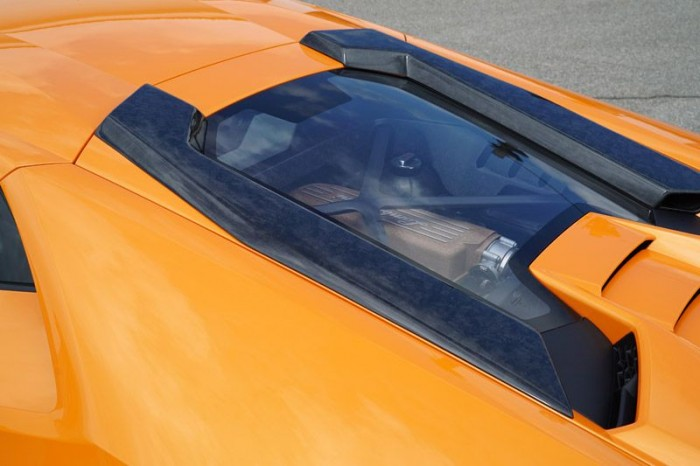 Friedrich Motorsport Lufteinlass Dachhutze (Satz) in Sichtcarbon FORGED