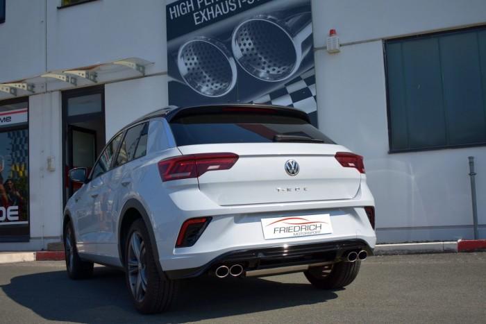 Duplex-Sportendschalldämpfer VW T-ROC Frontantrieb