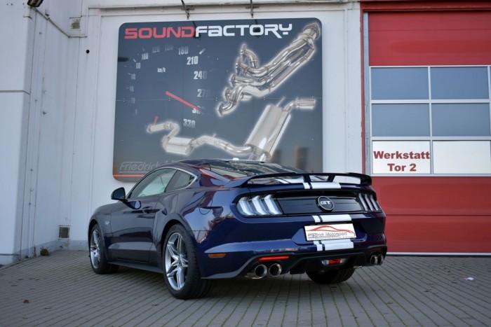 Friedrich Motorsport 76mm Duplex-Sportendschalldämpfer
