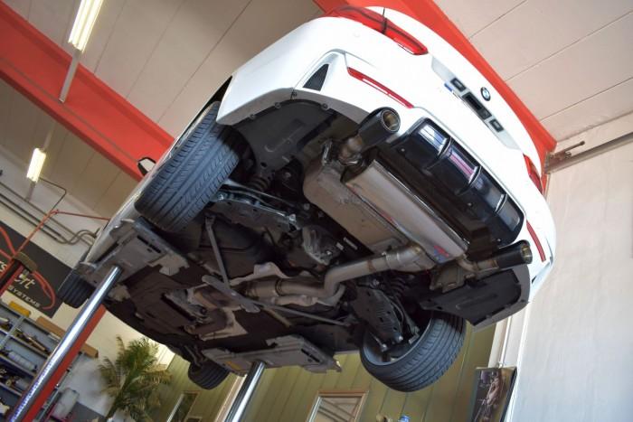 Friedrich Motorsport 90mm Duplex-Anlage